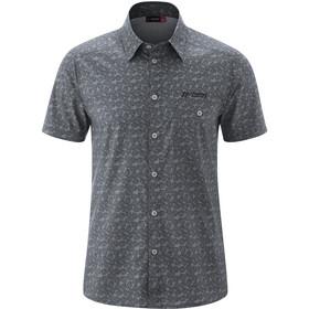 Maier Sports Lorcan Camiseta Manga Corta Hombre, grey allover